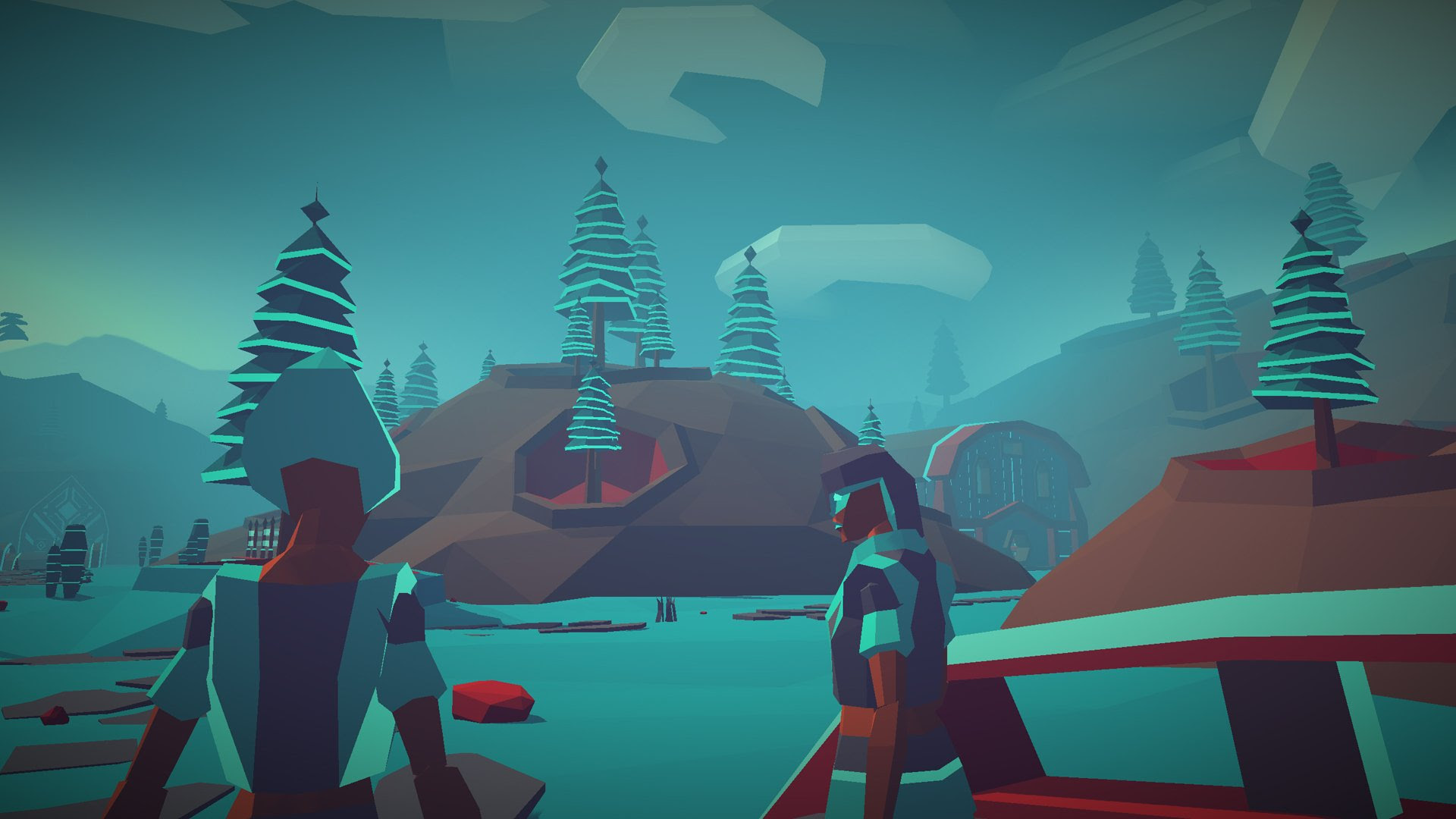 Low-poly space adventure Morphite is out now on multiple platforms screenshot