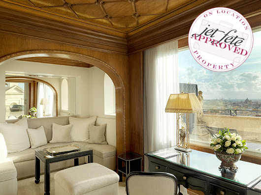 Hotel Hassler – Where the Stars Stay in Rome | The Destination Wedding Blog - Jet Fete by Bridal Bar