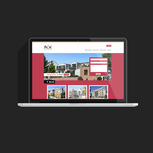 Site Wordpress BCK Immobilier