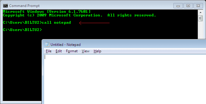 Command Prompt - Advanced Commands