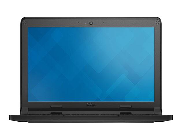 "Dell 11.6"" Chromebook 3120, 4GB RAM 16GB - Black (Refurbished) for $187"