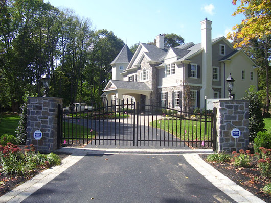 Aluminum Estate Gates | Swinging Driveway Gates in Chester County, PA