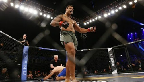 #mma news Report | Greg Hardy gets booked to fight again, still not with UFC
