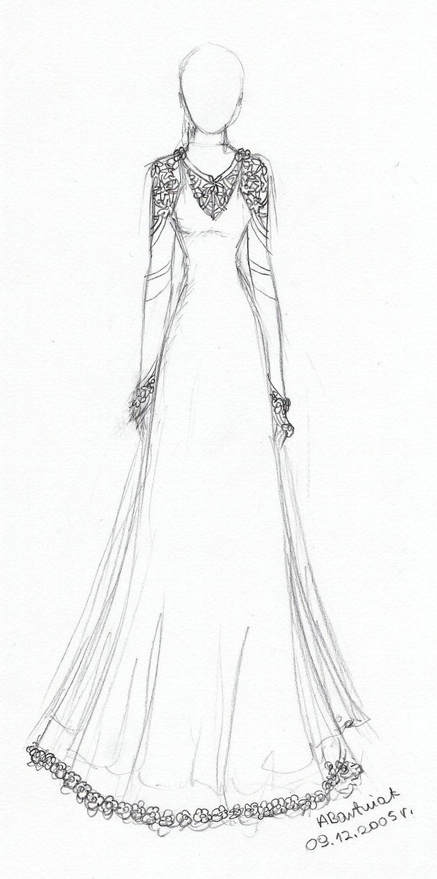 Newest For Art Beautiful Dress Design Drawing