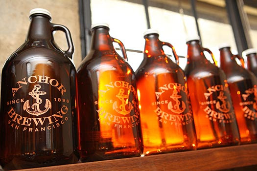 Say Hello to Anchor Brewing Growlers | Anchor Brewing Blog