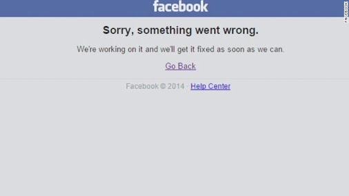 OMG! Facebook and Instagram down for a bit this morning. Is it the end of the world? #Twitter #Facebook...