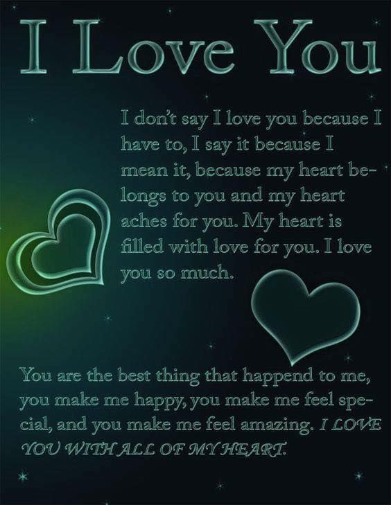 I Love You With All My Heart Pictures Photos And Images For