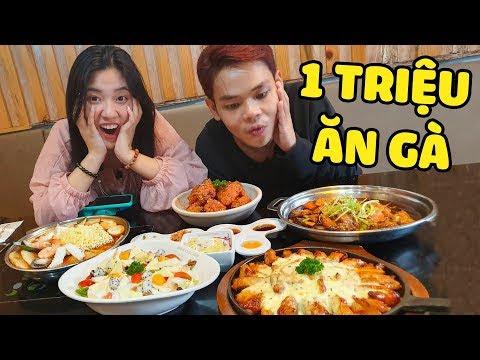 1 triệu đồng ăn gì ở nhà hàng gà nướng Hàn Quốc? cùng Fanny (Oops Banana)