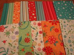 Serendipity quilt fabrics