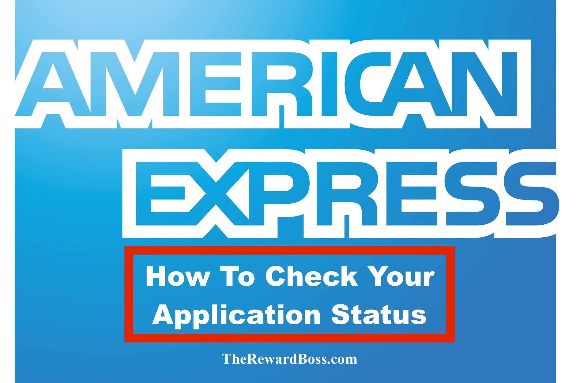 Amex Application Status + Tips on Reconsideration Phone Line