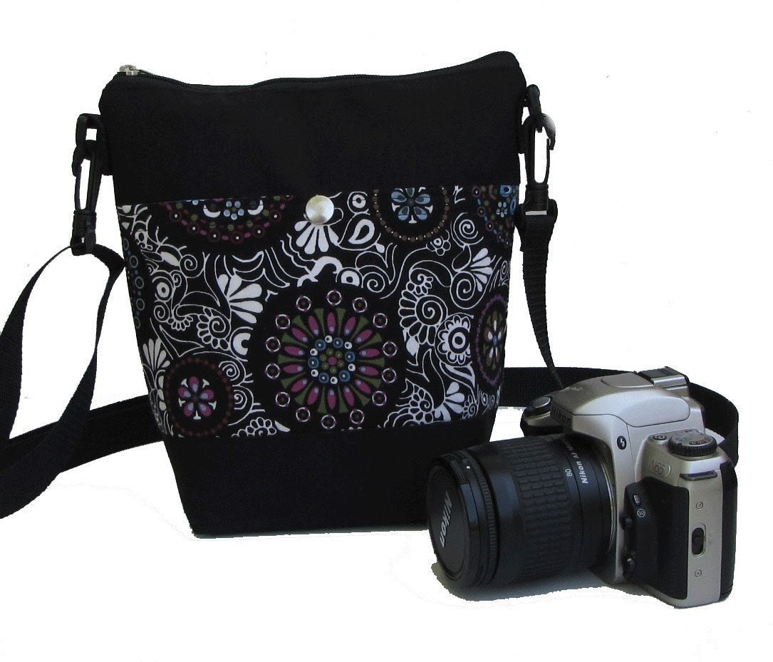 Create a SPARROW Ziptop Camera Bag - Holds Smaller DSLR - Fits Inside Larger Bags - FULLY Padded