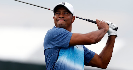 Tiger Woods posts video of swing, says he's 'progressing nicely'