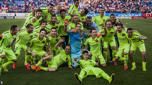 BBC Sport - Barcelona win La Liga: 10 key factors behind their revival