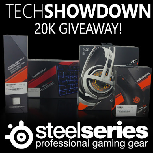 20k Subscribers Giveaway - Presented  by Steelseries & Playtech!