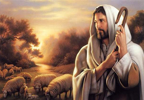 [Drawing of the Good Shepherd]