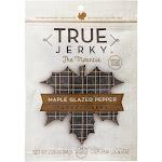 True Jerky - Maple Glazed Pepper Turkey Jerky - Pack of 8