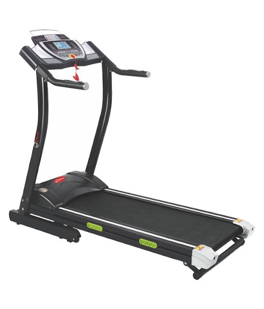 Energie treadmill EHT-112 with 2.5 HP motor, and touch screen LCD with Mp3 & USB Input, High Quality Speakers