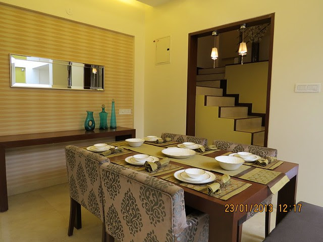 Dining - 3 BHK Bungalows at Green City Handewadi Road Hadapsar Pune 411028