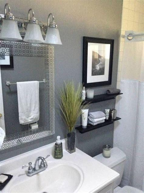 gray  bathroom decorating ideas   budget  gongetech