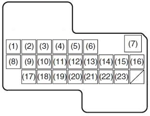 Suzuki Sx4 2006 2013 Fuse Box Diagram Auto Genius