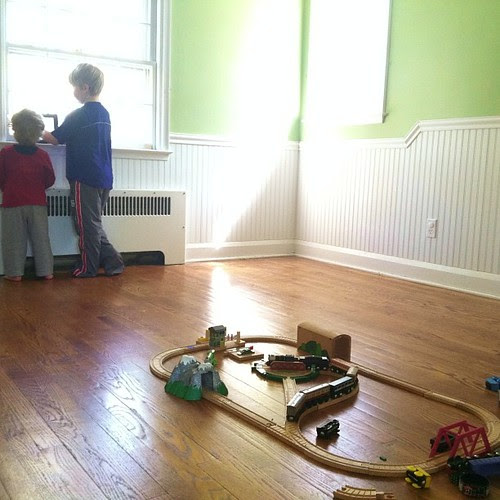 The nursery where all 4 boys spent their early days... #1000gifts, #movingday
