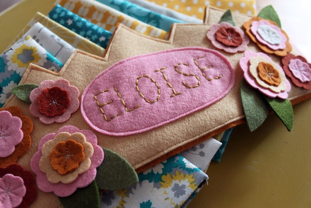 hand stitched eloise