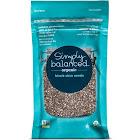 Simply Balanced Organic Black Chia Seeds - 6 oz pouch