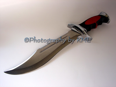 a tactical knife isolated