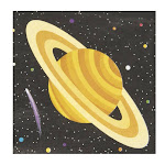 Space Party Beverage Napkins (16)
