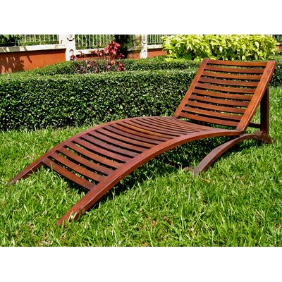 Outdoor Wood Chaise Lounge | Wayfair