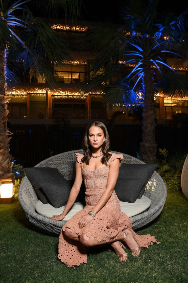 Alicia Vikander – Grand Opening of Bulgari Dubai Resort -05