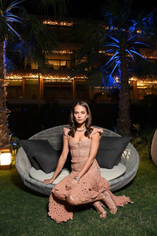 Alicia Vikander–Grand Opening of Bulgari Dubai Resort -05