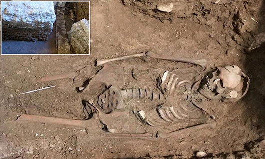 Roman perfume shop and Gothic burial site found in Spain | Daily Mail Online