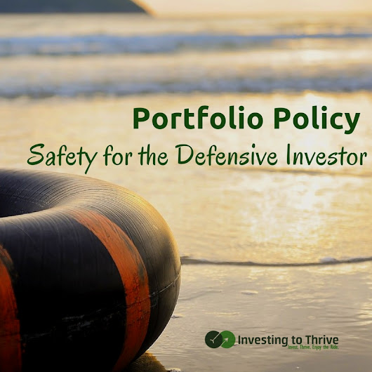 How to Create a Portfolio Policy for the Lazy Investor
