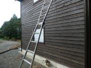 第2木工小屋の壁