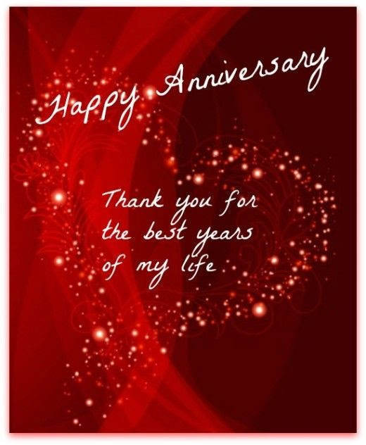 Happy Anniversary Thank You For The Best Years Of My Life Pictures