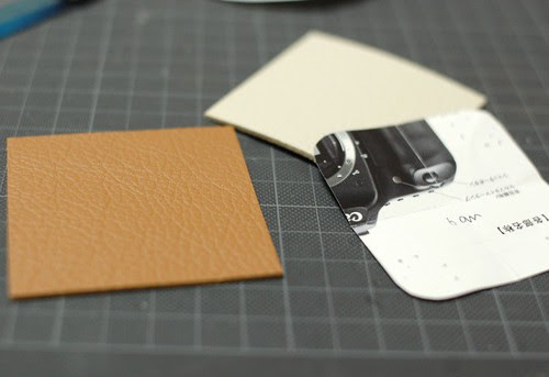 How to make a leather bottom pincushion 1