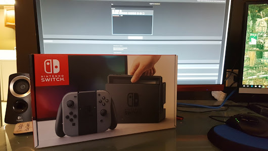 Looks Like Someone Has Received The Nintendo Switch Early