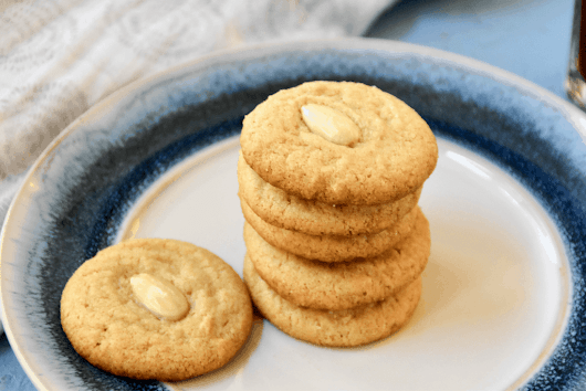 Tahini Cookies - Zesty South Indian Kitchen