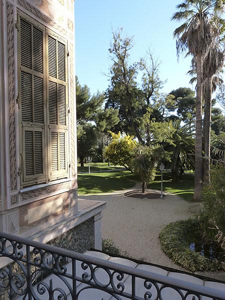 jardin villa Nobel