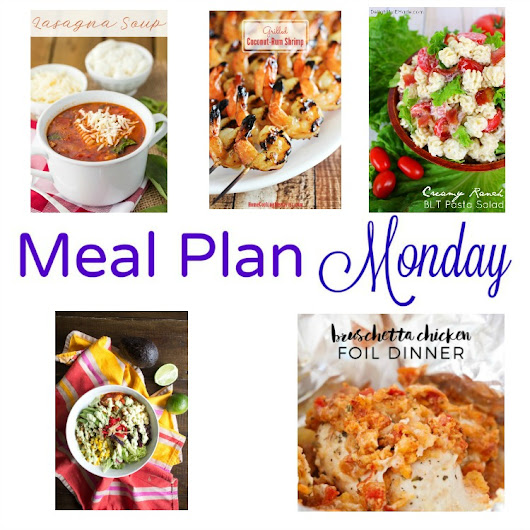 Meal Plan Monday -- Coconut Rum Shrimp & Chicken Burrito Bowls
