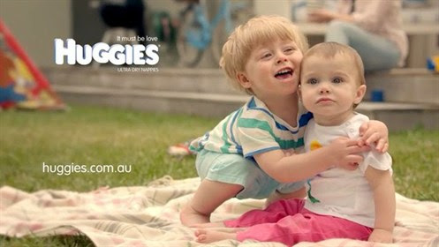 We've put a hug into every Huggies Nappy!