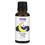 NOW Foods Peaceful Sleep Blend   1 fl oz Liquid   Essential Oils