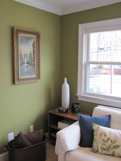 Living Room: Painted!The Borrowed Abode | The Borrowed Abode