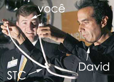 David Copperfield desvendando o esquema da STC