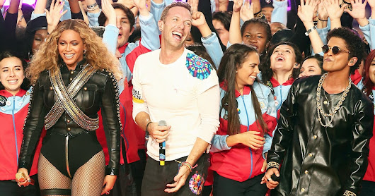 Coldplay Rocks Super Bowl 50 Halftime Show With Bruno Mars, Beyonce - Us Weekly