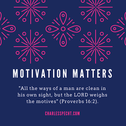 Motivation Matters Most | Charles Specht