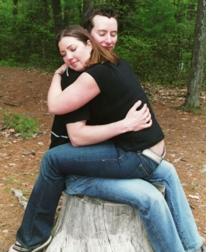 14. Their love will continue to grow like this dead tree stump.