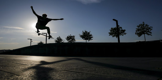Skateboarding is good for you – and good for public places