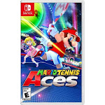 Mario Tennis Aces Nintendo Switch - For Nintendo Switch - ESRB rated E - Sports Game - Up your game w/ Zone Speed & Zone Shot - Unleash an arsenal of